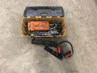 Tool Box of Sockets,Impact Sockets, Wrenches