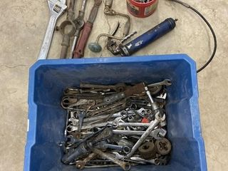 Tub of Misc Tools Including