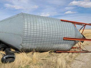 Approximately 300 BU Hopper Bottom Bin