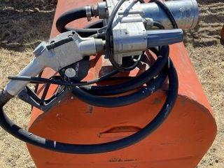 130 Gal Slip Tank W/12 Gal Elec Pump