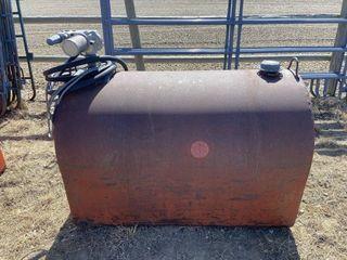 130 Gal Slip Tank W/12 Volt Pump