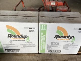 2 Cases of Round Up Chemical