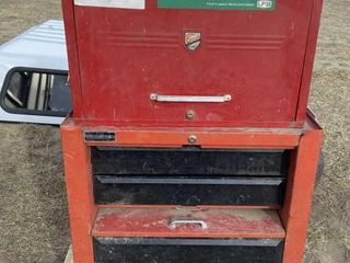 Upright Tool Box Base & Top Cabinet Complete