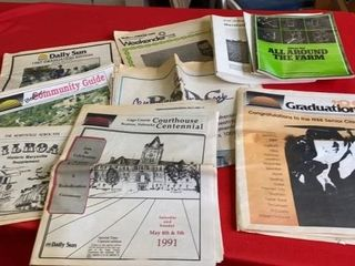 lOCAl NEWSPAPERS FROM THE 80IJs AND SOIl AND FARM