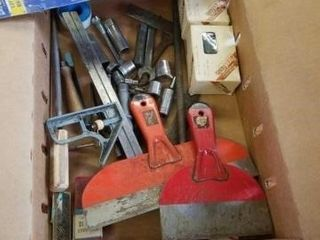 PANEl NAIlS  SCRAPPERS  HACK SAW BlADES