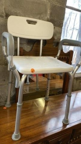 SHOWER CHAIR lIKE NEW