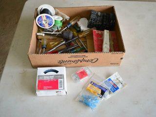 Box of Elec  Hardware  Screwdrivers