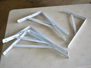 6  Heavy Shelf Brackets   15  x 10