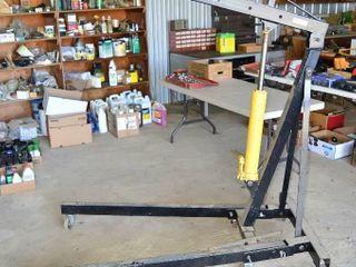 Power Fist 2 Ton Speed lift Shop Crane