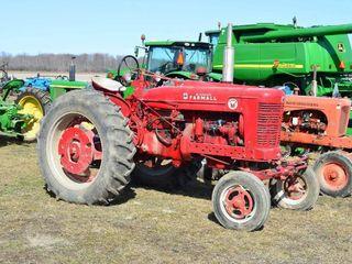 McCormick Farmall Super M Gas Tractor