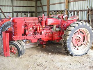 McCormick Farmall Super MD TA Diesel Tractor