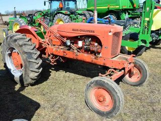 1949 Allis Chalmers WD Gas Tractor