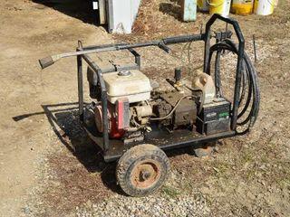 Honda 9HP Gas Pressure Washer on Cart