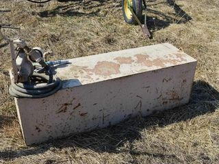 Diesel Fuel Tank with Manual Pump