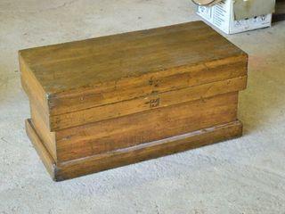 Wooden Storage Chest  34  x 16  x 16