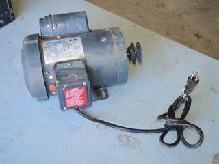 leeson 1hp Elec Motor