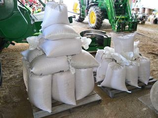 2  Pallets of Treated Soybean Seed
