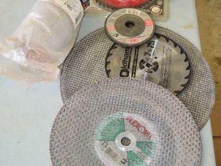 Grp  of Abrasive Discs  Saw Blades  Sanding