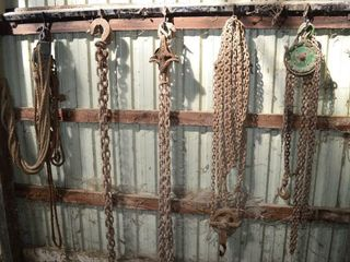 Grp  of Chainfalls  Block and Tackle  logging