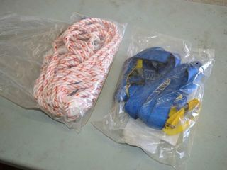 Safety line and Harness