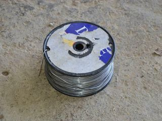 Roll of light Electric Fence Wire