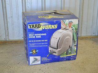 Yard Works Self Winding Hose Reel