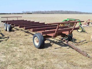25ft x 8ft Round Bale Wagon