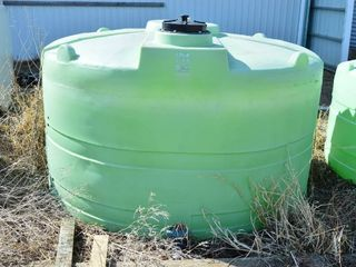 Poly Round Storage Tank  1250 gal