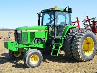 1997 John Deere 7810 Diesel Tractor