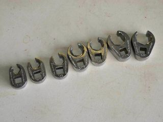 Snap On 3 8  Crow Foot Wrenches   3 8  to 3 4