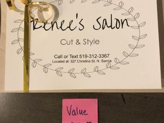 Gift Certificate for a Cut and Style
