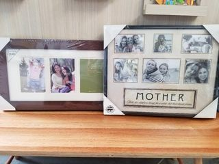 Two Collage Picture Frames