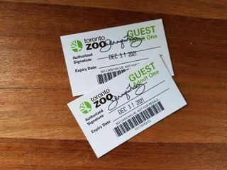 Two Passes to the Toronto Zoo