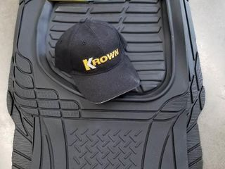 Premium Universal Fit Floor Mats   Krown Hat