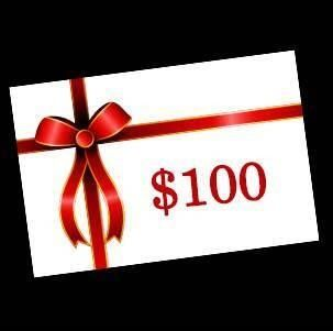 100 Gift Card of Your Choice