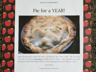 Pie for a Year