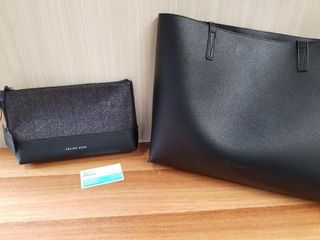 Celine Dion Clutch and Bugatti Shoulder Bag