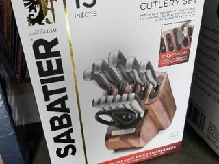 Sabatier 13 Piece Forged Cutlery Set