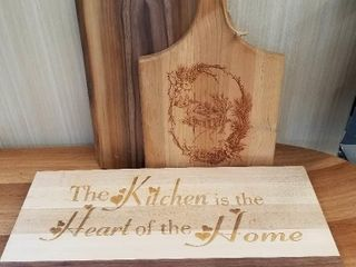Set of Three  Canuck Cutting Boards