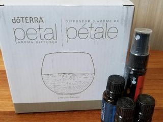 doTERRA Diffuser and Oils