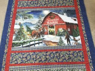 Beautiful Christmas Barn Quilt   72 100