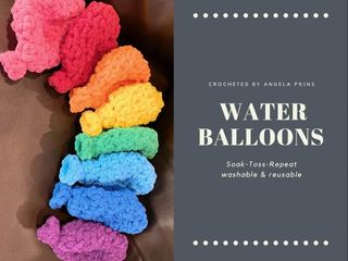 Crocheted Reusable Water Balloons