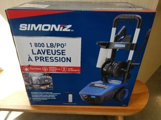 Simoniz 1800 PSI Pressure Washer