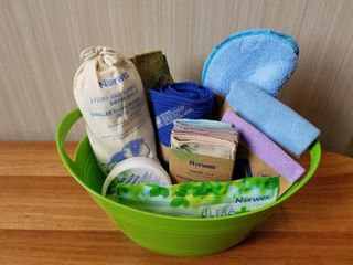 New Norwex Cleaning Cloths Basket