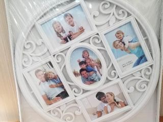 Stunning White Collage Frame