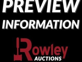 Complete Liquidation Online Auction - April 27 (Tuesday
