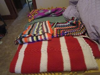 KNITTED AFGHAN