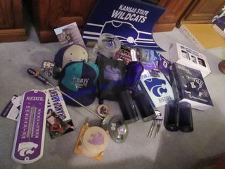 K STATE ITEMS