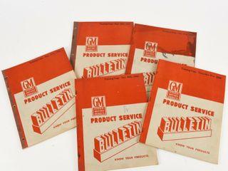 lOT 5 1949 GM PRODUCT TRAINING COPY BUllETINS