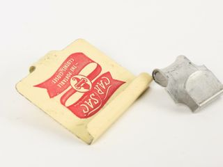 GROUPING OF 2 VINTAGE CAR SAC HOlDERS